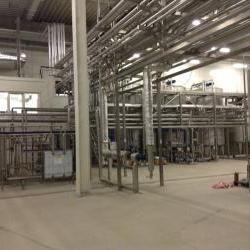 участок производства молочных сливок