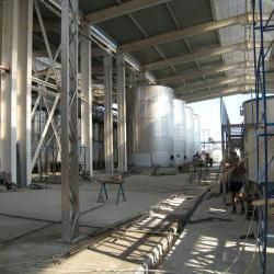 Строительство винзавода