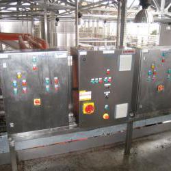 Шкафы управления приемки винограда на винзаводе