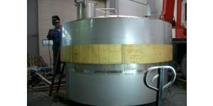 акратофоры для производства шампанского объемом 130 м3