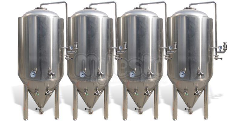 ЦКТ, форфасы, варочные порядки, емкостное оборудование для пива