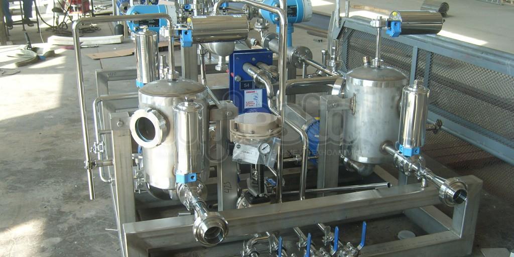 Автоматические смесительные и дозирующие установки