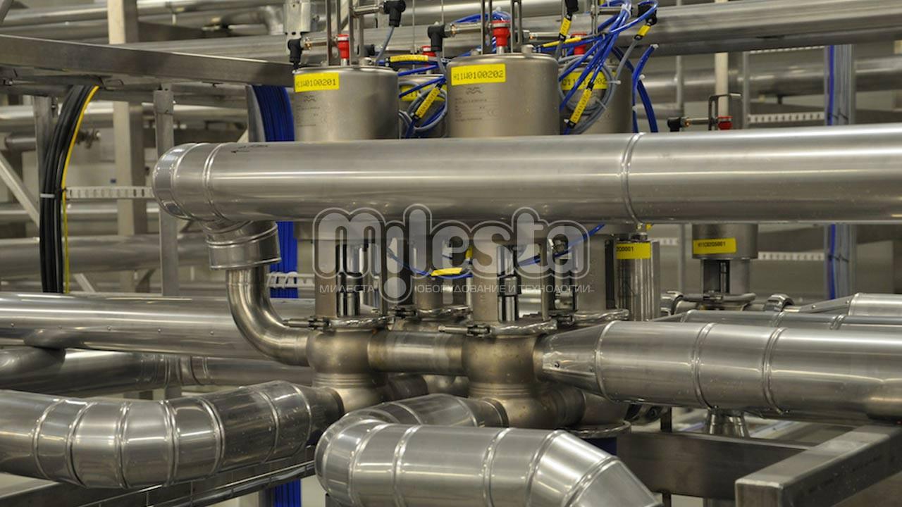 технологическая обвязка трубопроводов