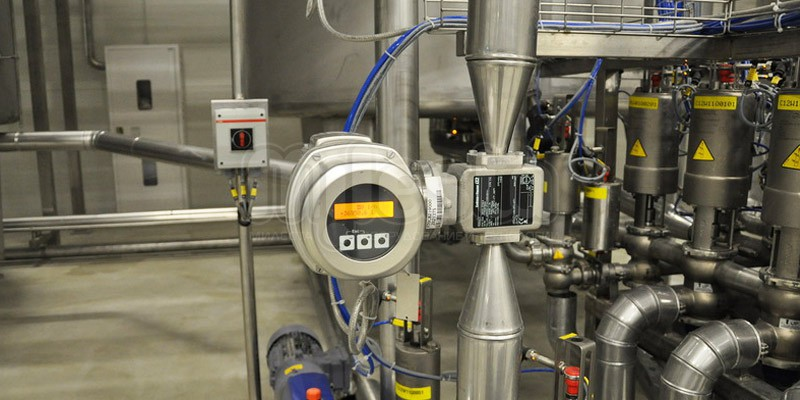 Системы автоматизации молочного производства