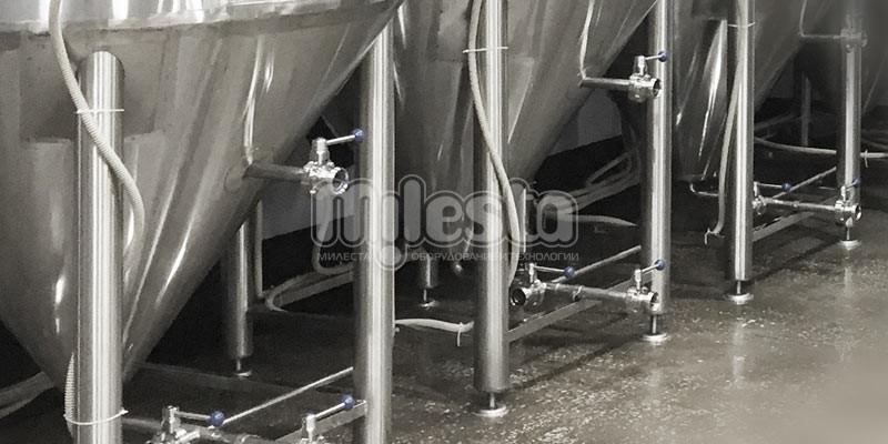 установка цкт на предприятии по производству пива