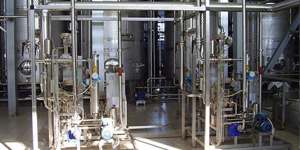 Установки для дозирования ингредиентов при производстве водки
