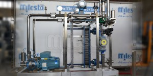 Установки для приготовления сортировки (водно-спиртовой смеси) в потоке