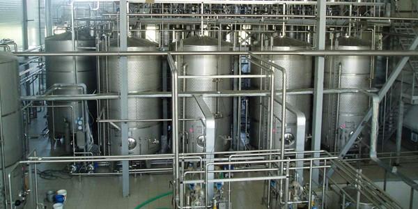 Установка для точного дозирования ингредиентов. Для производства слабоалкогольных напитков, водок и ликеров