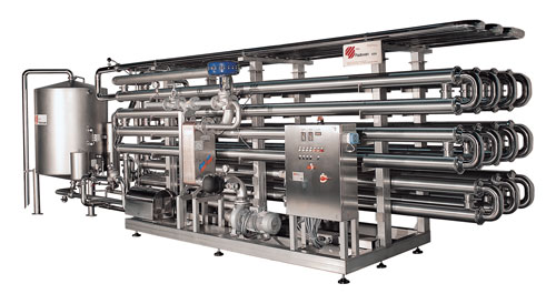 Pasteurizer in-line